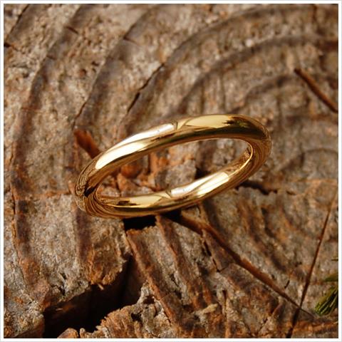 ゴールド リング 『Nude』 指輪 リング k10 10k 10金 k18 18k 18金 ゴールドリング 甲丸リング 甲丸 結婚指輪 マリッジリング 地金 レディース ring シンプル大人 女性 ペア 上品 送料無料 ギフト プレゼント