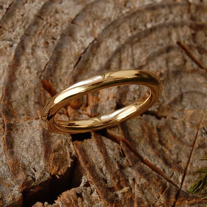 【Nude】 リング レディース ゴールド 甲丸 指輪 結婚指輪 マリッジリング ペアリング k18 18金 18k k10 10金 10k ピンクゴールド ホワイトゴールド 女性 大人 地金 シンプル 普段使い プレゼント ギフト