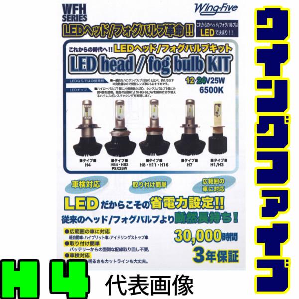 LEDヘッドランプ H4