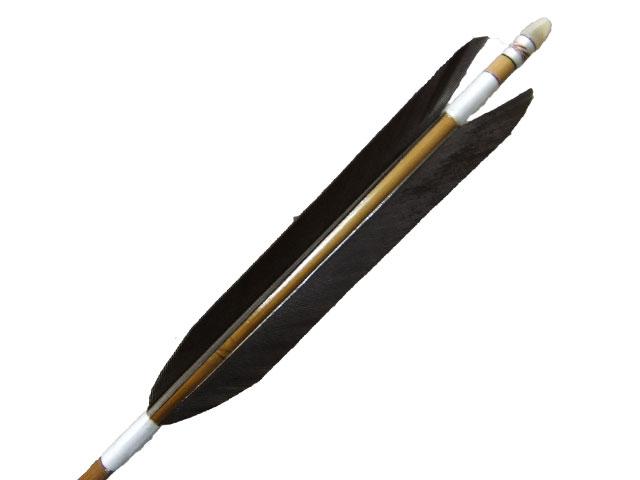 ミズノバンブーカーボン 黒尾羽6本組 オーダー製作