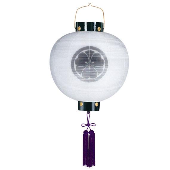 家紋入れ無料の木製門提灯。送料無料の数量限定商品です。【G74KG0653W】