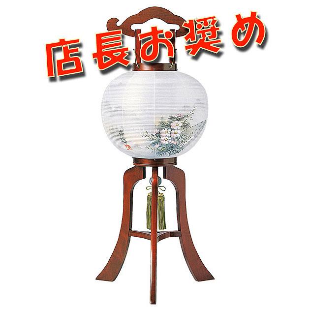 木製の大内デザイン盆提灯「コスモス」。送料無料・ベテラン店長のおすすめ商品です。【G14OU4564】