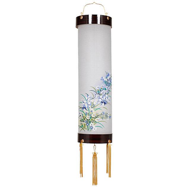 住吉デザイン盆提灯「蘭」。美しい花模様が魅力です。【G50SY9514】