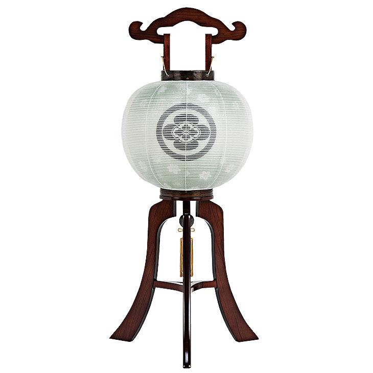 家紋入れ無料の木製盆提灯。送料無料・本格派盆提灯の代表的商品です。【G55KO38155S】
