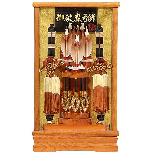 No.108-02 桂(かつら) 8号 初正月 コンパクト 破魔弓飾り