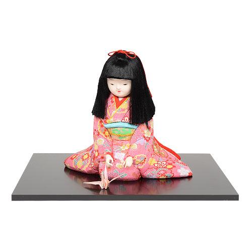 ギフトに最適な木目込み人形 No.1041-2-A【ひいな】贈答品にオススメの完成品