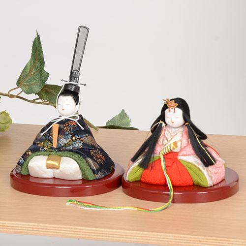 ギフトに最適な木目込み人形 No.1060-A【芙蓉花雛】贈答品にオススメの完成品