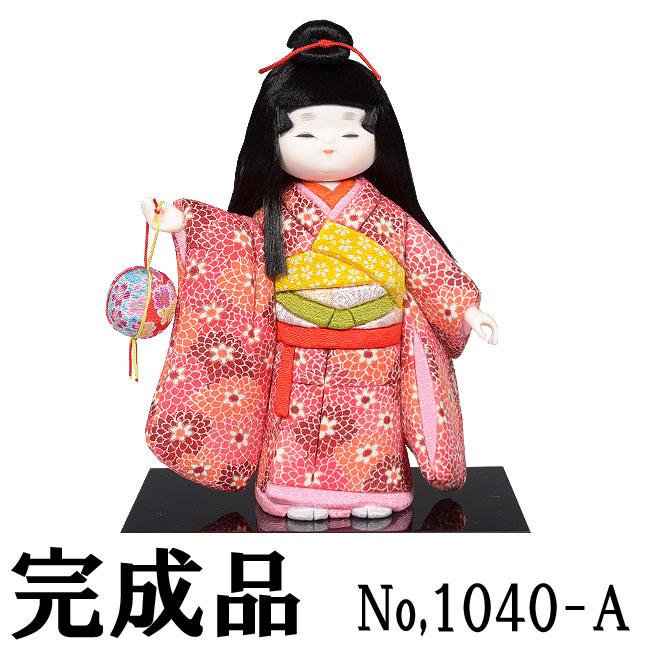 ギフトに最適な木目込み人形 No.1040-A【春風(姉)】 完成品