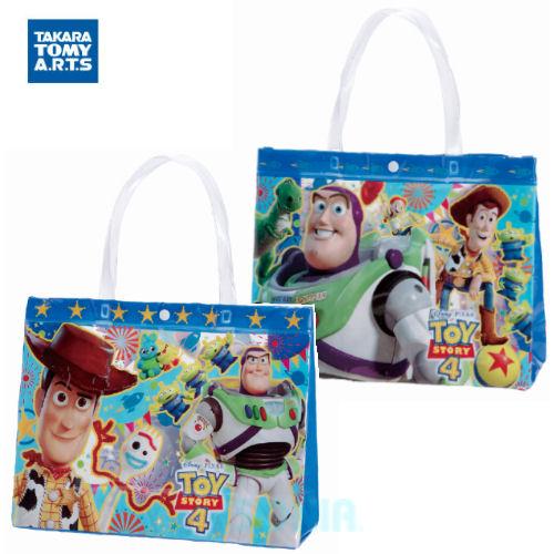 ビーチバッグ 男の子 最新アイテム キッズ ビニールバッグ プール TAKARA 誕生日/お祝い TOMY A.R.T.S タカラトミーアーツ ウッディ トイ ストーリー バズ バッグ TS-BG-034-U TOYSTORY Disney Pixar