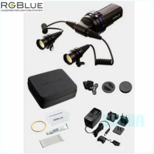 RGBlue(アールジーブルー) System03 TWIN LIGHT システム03 ツインライト LEDライト(水中ライト・同梱品含む)