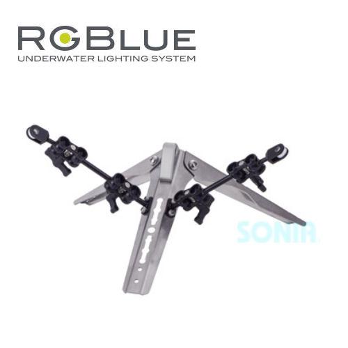 上品な RGB-CTAK1RGBlue(アールジーブルー) RGB-CTAK1 コンパクトトライポッドアームキット, イシバシマチ:535ea508 --- canoncity.azurewebsites.net