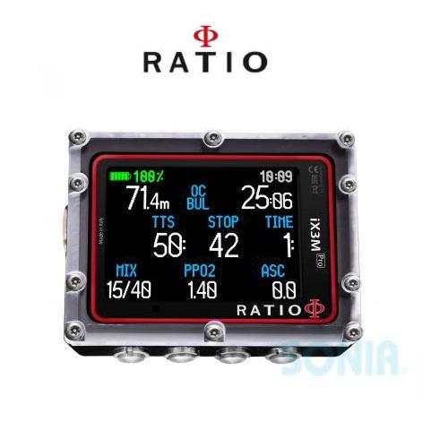 RATIO(レシオ) FL1105 iX3M Pro Easy アイ・エックス・スリー・エム・プロ・イージー ダイブコンピューター