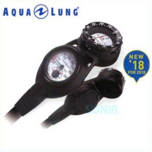 【送料無料】AQUALUNG(アクアラング) 614126 プレシス2ゲージ(コンパスタイプ)ダイビング