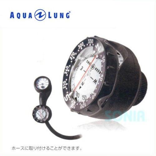 【送料無料】AQUALUNG(アクアラング) 814141 プレシスホースマウントタイプコンパス ダイビング