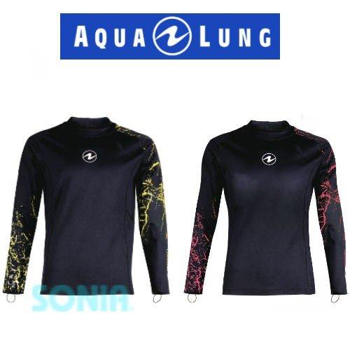 【送料無料】AQUALUNG(アクアラング) 43413 セラミックスキン ラッシュガード CERAMIQSKIN 長袖 水着