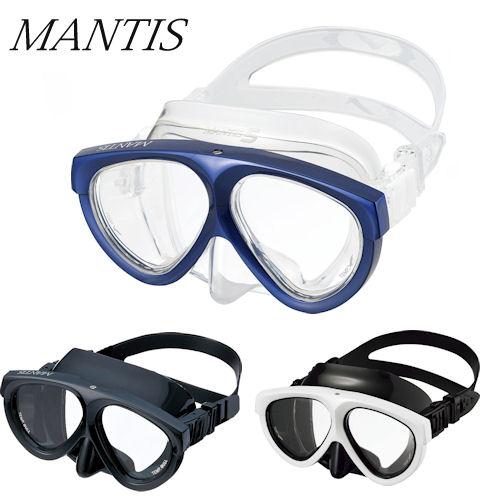 GULL(ガル) マンティスマスク 度付レンズセット(GM-1021/GM-1031) MANTIS MASK ダイビング