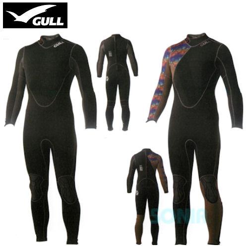 GULL(ガル) GW-6617/GW-6618(GW-6583/GW-6584) レディメイド 5mm ウエットスーツ