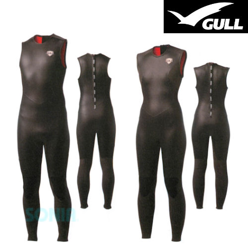 GULL(ガル) GW-6620/GW-6622(GW-6588/GW-6590)3mmスキンロングジョンIII SKIN LONG JOHN