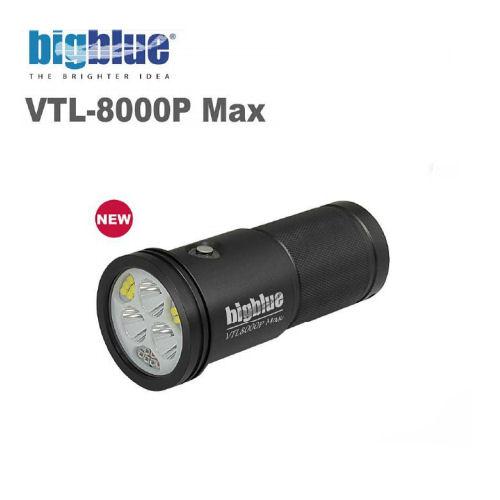 【送料無料】bigblue(ビッグブルー) VTL-8000P MAX LEDライト 水中ライト