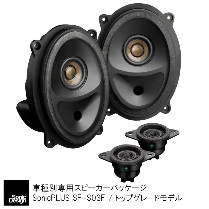 スバル フォレスター専用 SJ系専用スピーカーパッケージ フロント専用