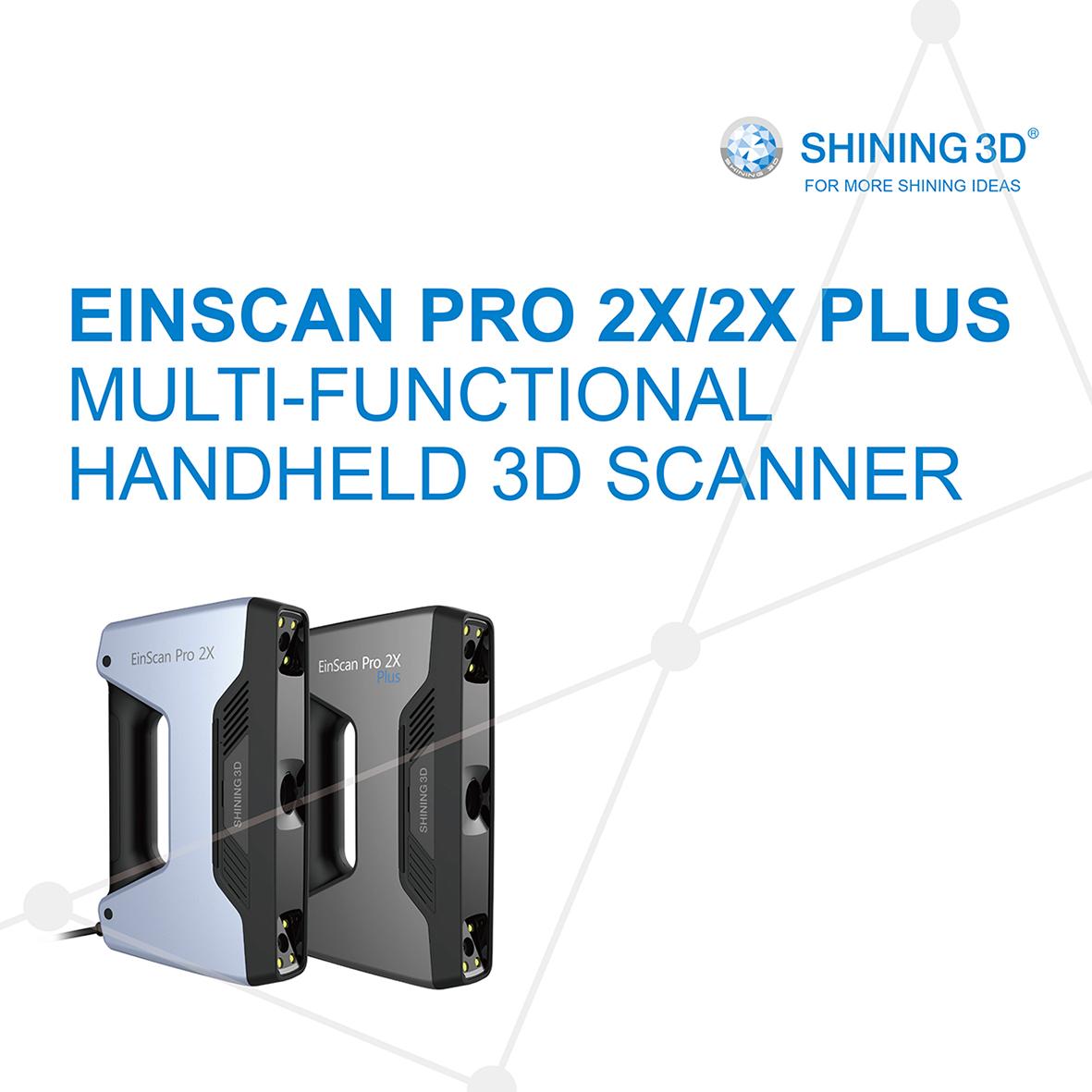 ★日本正規代理店★ EinScan Pro 2X EINSCAN PRO 2X/2X MULTI-FUNCTIONAL HANDHELD 3D SCANNER モバイル手持ち3Dスキャナー