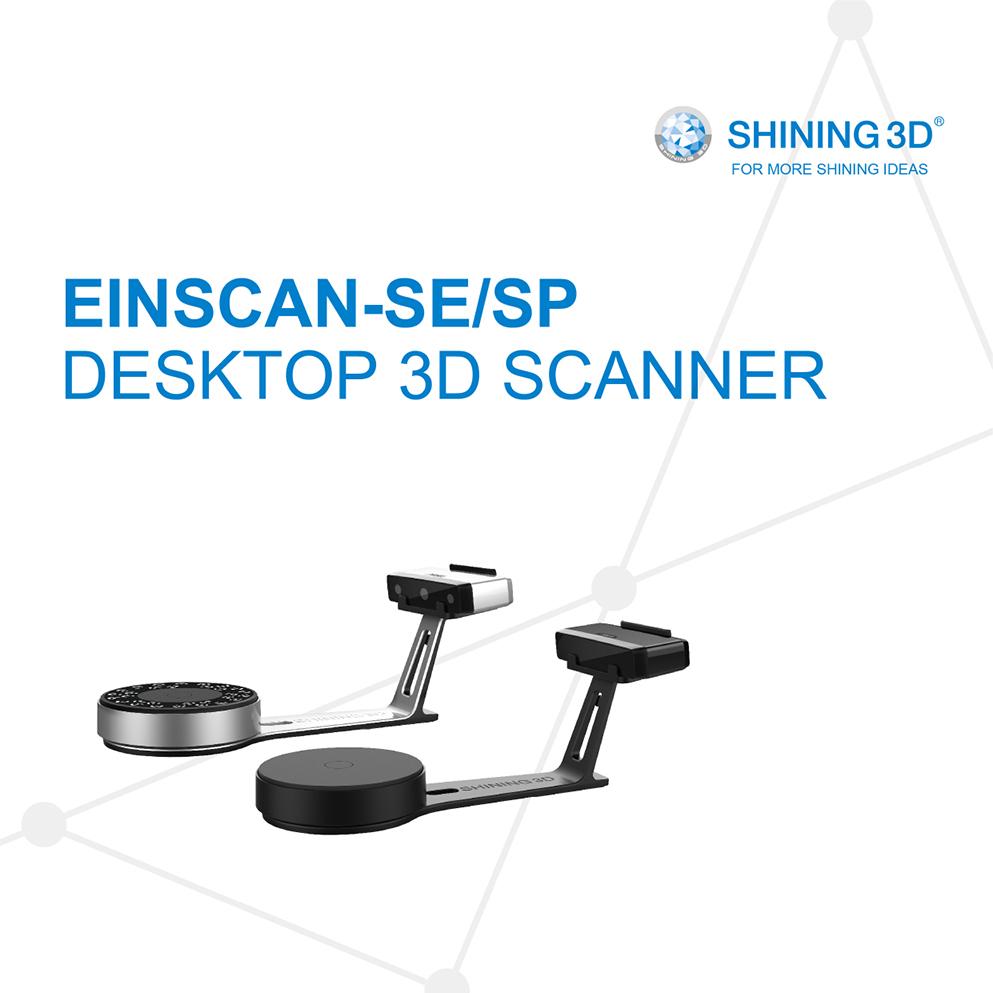 ★日本正規代理店★ EinScan-SP Desktop デスクトップ 3Dスキャナー