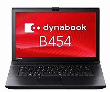 ★未使用品★ 東芝 dynabook B454 U/Celeron(R) 2950M/4GB/500GB/DVD-ROMドライブ/15.6 インチ液晶搭載/Toshiba ノートパソコン PB454UNJ425AE1W