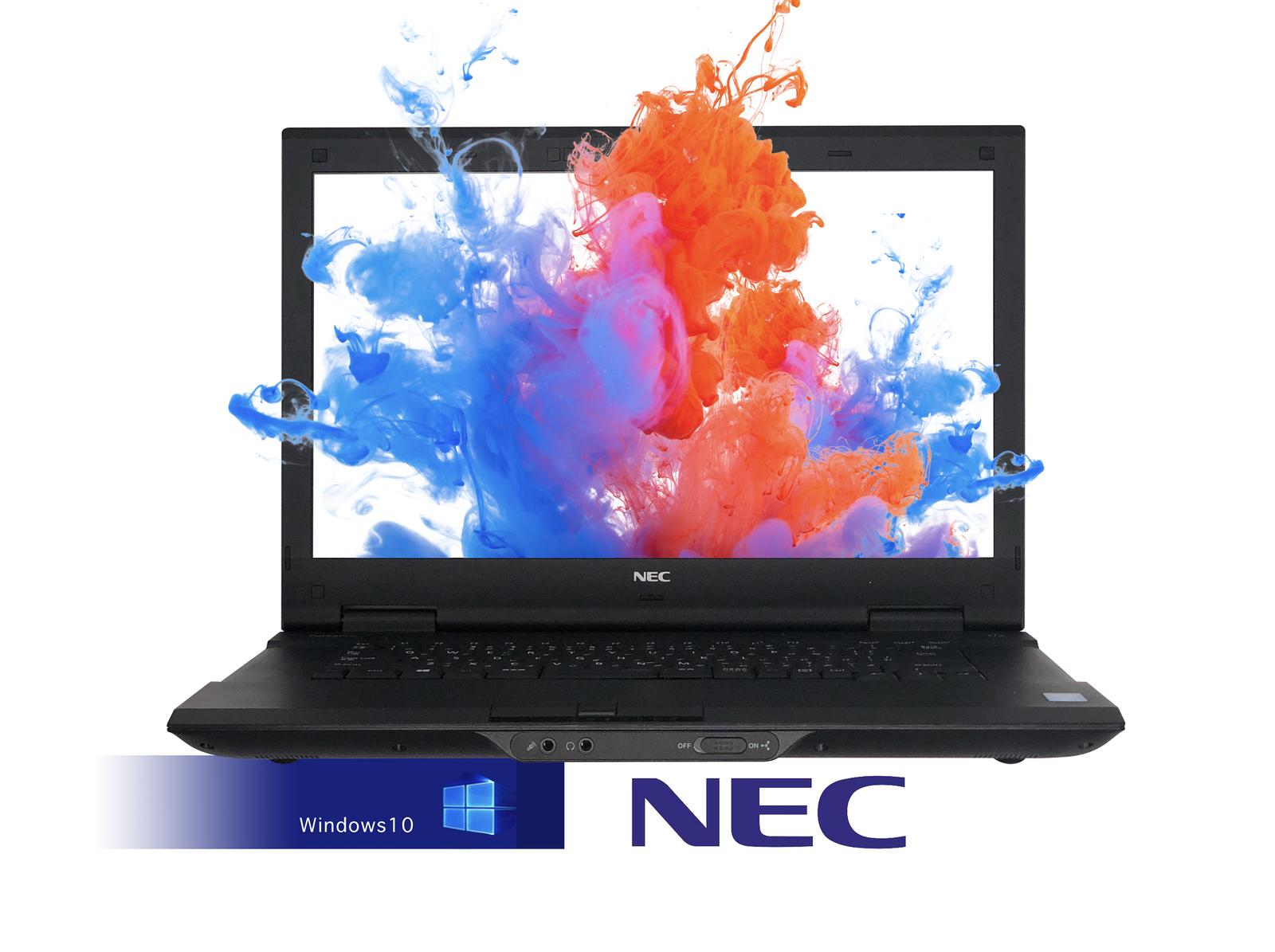 VersaPro 320GB VK25 (新品メモリー:8GB+新品SSD:480GB)2016変更可能/WPS /第三世代Core Office付き 10搭載】NEC 15.6インチ/無線LAN/DVD/中古ノートパソコン 【中古】【Office搭載】【Windows 2.50GHz/メモリ4G i5