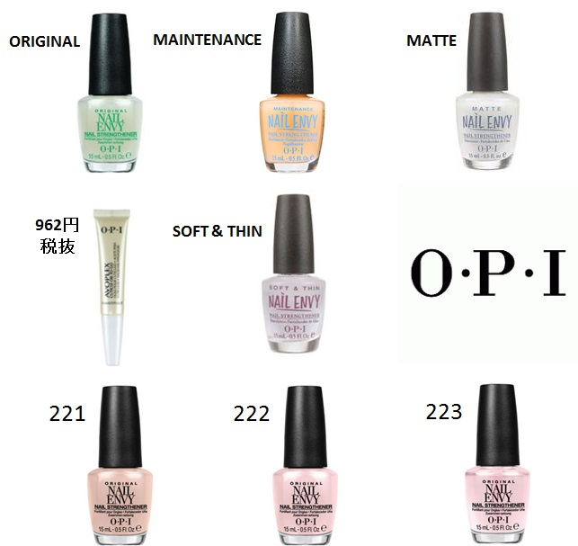 sophiacorp | Rakuten Global Market: -OPI nail envy original NAILENVY ...
