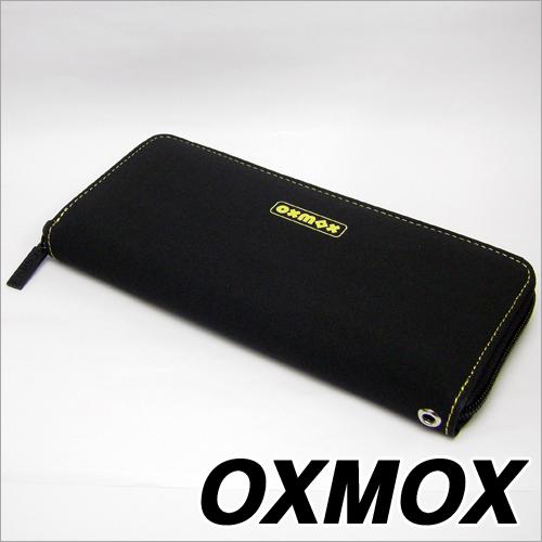 OXMOX(オックスモックス)color(カラー)ラウンドジッパー長財布 イエロー