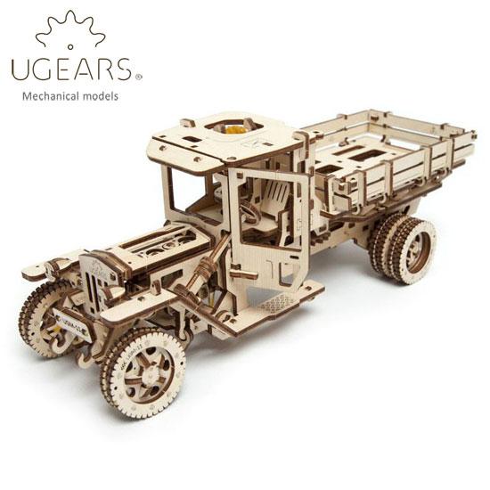 Ugears ユーギアーズ 木製組立立体パズル トラック UGM-11