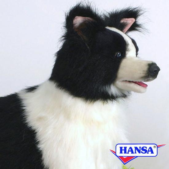 HANSA ハンサ ぬいぐるみ4563 コリー BORDER COLLIE STANDING