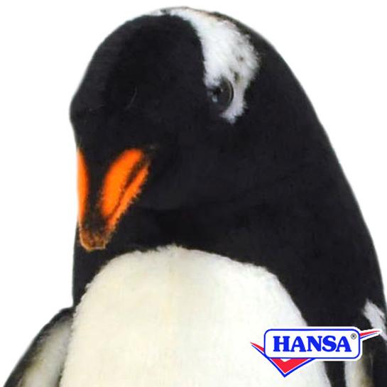 HANSA ハンサ ぬいぐるみ7106 ジェンツ-ペンギン GENTOO PENGUIN