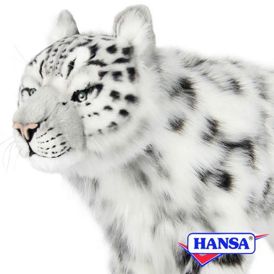HANSA ハンサ ぬいぐるみ7240 スツール ユキヒョウ SNOW LEOPARD STOOL
