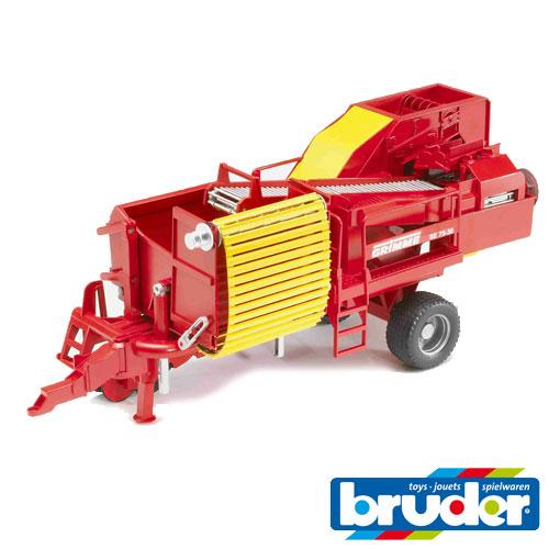 bruder ブルーダー プロシリーズ 02130 GRIMMEポテトディガー(ポテト80個付き) 1/16