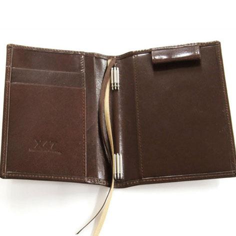 X47 ドイツ製 システム手帳 A7タイマー ブラウン本革手帳 プレミアム ガウチョA7 Timer 708 Premium