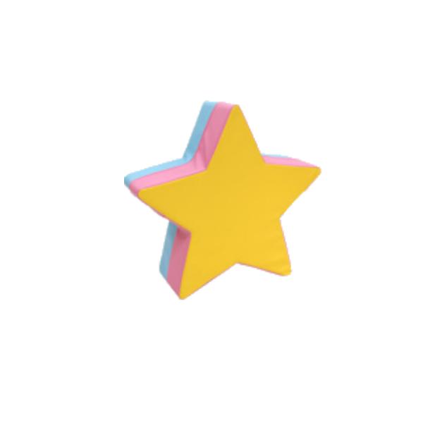 【送料無料】安心の国内生産 ウレタン遊具シリーズ キッズ遊具 お星さま型クッション [高田紙器] US-HOSHI 【smtb-tk】