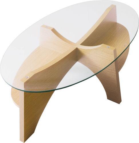 【送料無料】オーバルテーブル W105×D60×H36cm [東谷] LE-454NAWAL テーブル インテリア家具【smtb-tk】