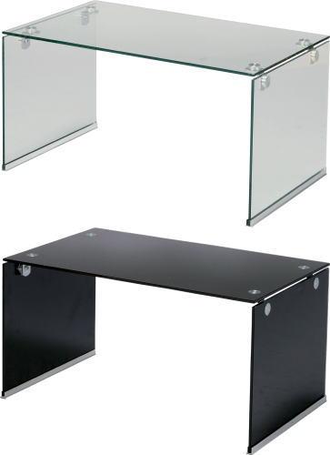 【送料無料】ガラステーブルS W76×D45×H39cm[東谷]PT-28CL テーブル インテリア家具【smtb-tk】