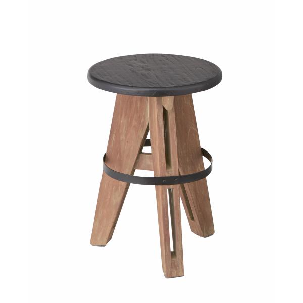 【2脚セット】【送料無料】 アイザックスツール W32×D32×H45cm [東谷] NW-856 chair 天然木 アイザック おしゃれ カフェ オールド スツール【smtb-tk】