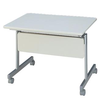 【送料無料】跳ね上げ式 サイドスタックテーブル/幕板付 W900×D600×H700 GD-064M【smtb-tk】
