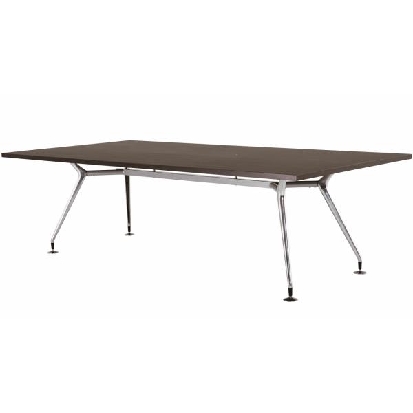 【法人限定】会議テーブル 角型 幅2400×奥行1200×高さ720mm 4本脚 スタンダードタイプ CAD-2412K 高級会議テーブル ダークウッド ペールウッド オフホワイト テーブル 会議用テーブル ミーティングテーブル NISHIKI ニシキ工業