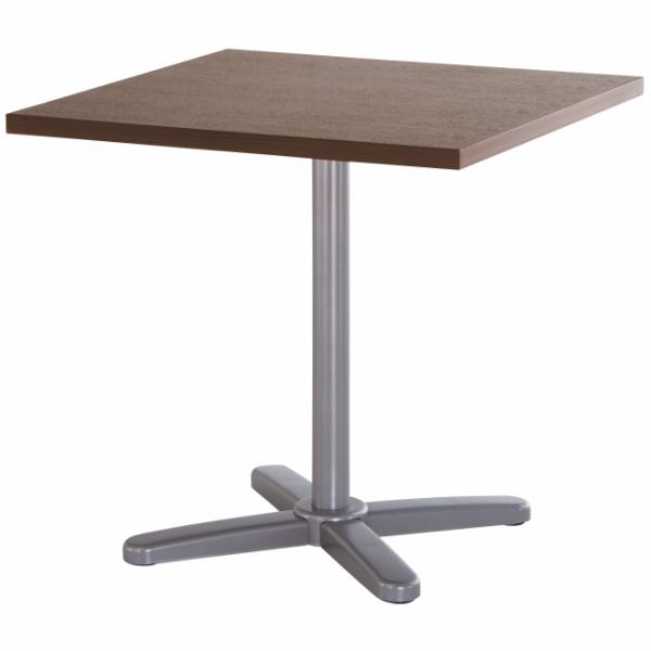 【法人限定】会議テーブル 幅750×奥行750×高さ720mm 十字脚 GIU-7575K ダークオーク ペールウッド ニューグレー オフホワイト テーブル 会議用テーブル ミーティングテーブル NISHIKI ニシキ工業