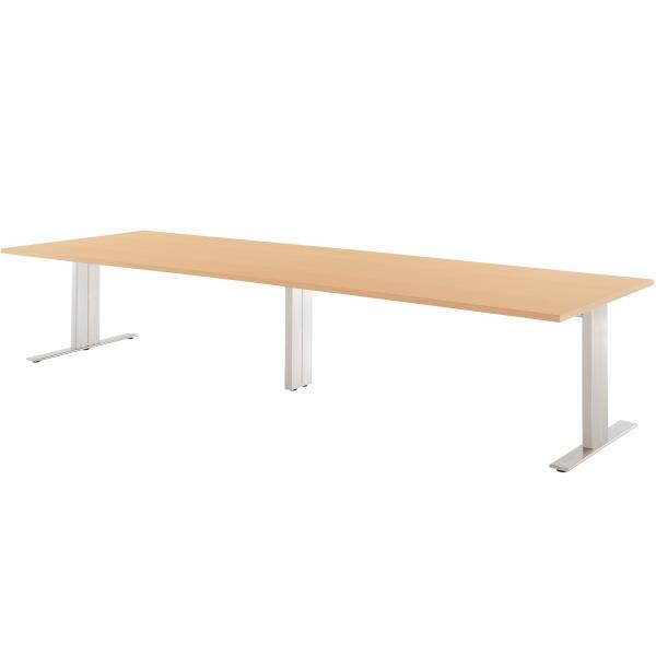 【法人限定】エグゼクティブテーブル 幅3600×奥行1200×高さ720mm HTH-3612 高級会議テーブル スタンダードタイプ ダークウッド マホガニー ペールウッド オフホワイト 会議テーブル 会議用テーブル ミーティングテーブル NISHIKI ニシキ工業