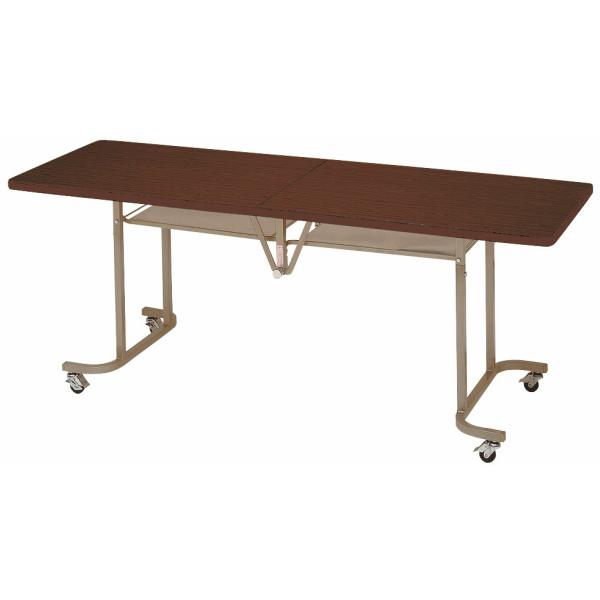 【法人限定】フライトテーブル 角型 共巻 幅1800×奥行750×高さ700mm 折りたたみテーブル LK-1875T ローズ チーク アイボリー テーブル レセプションテーブル 会議テーブル 折畳 折り畳み 長机 ミーティングテーブル NISHIKI ニシキ工業