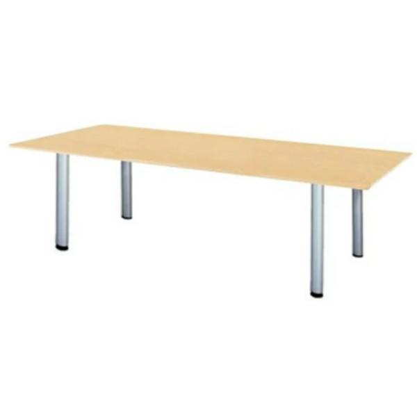 【法人限定】エグゼクティブテーブル 角型 幅2400×奥行1200×高さ720mm MTY-2412K 高級会議テーブル スタンダードタイプ ダークウッド マホガニー ペールウッド オフホワイト 会議テーブル 会議用テーブル ミーティングテーブル NISHIKI ニシキ工業