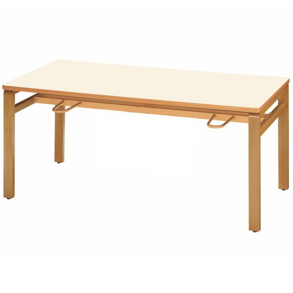 【法人限定】食堂テーブル 幅1500×奥行900×高さ700mm 4人用 休憩テーブル MU-1590 ソフトエッジ ダイニングテーブル テーブル 会議用テーブル ミーティングテーブル 食堂用テーブル 会議テーブル NISHIKI ニシキ工業