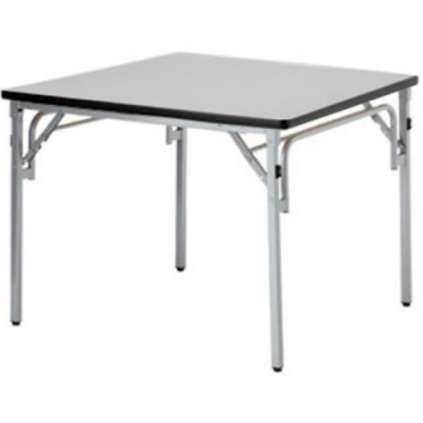 【法人限定】フォールディングテーブル 幅900×奥行900×高さ700mm ソフトエッジ 折りたたみテーブル TGS-0909 ローズ チーク ニューグレー アイボリー テーブル 会議テーブル 折畳 折り畳み 長机 ミーティングテーブル NISHIKI ニシキ工業