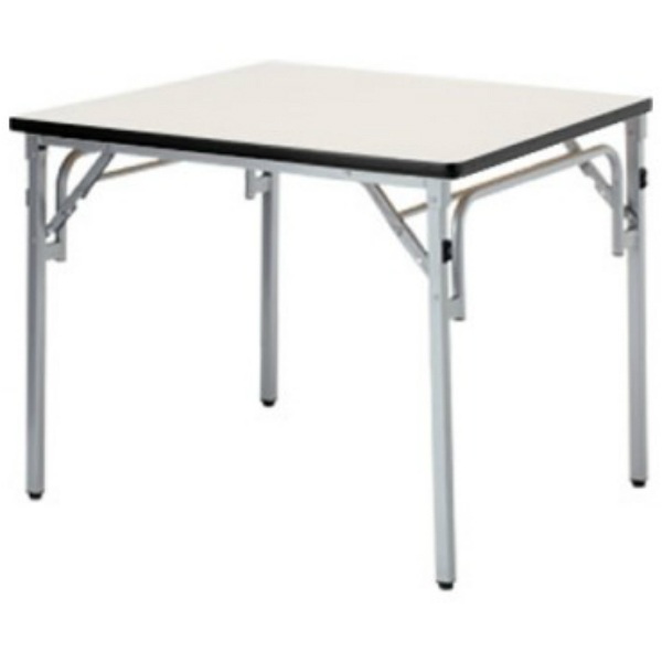 【法人限定】フォールディングテーブル 幅750×奥行750×高さ700mm ソフトエッジ 折りたたみテーブル TGS-7575 ローズ チーク ニューグレー アイボリー テーブル 会議テーブル 折畳 折り畳み 長机 ミーティングテーブル NISHIKI ニシキ工業