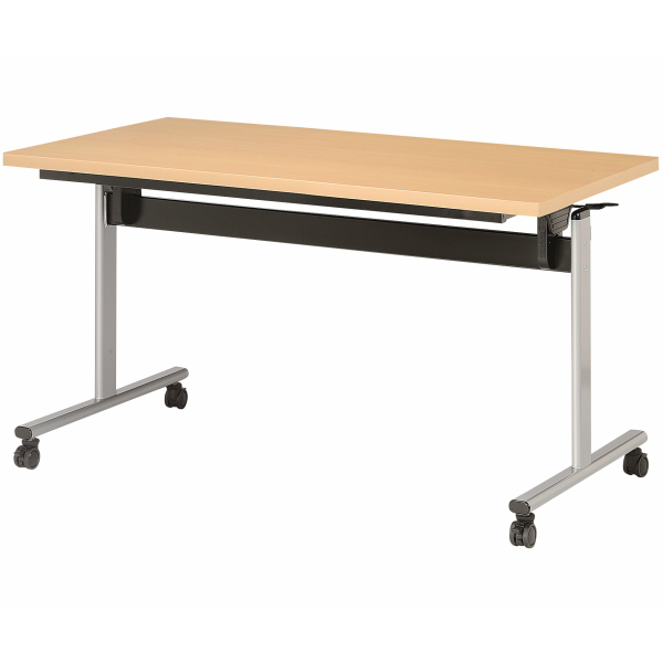 【法人限定】スタック 会議テーブル 角型 幅1200×奥行750×高さ720mm スタックテーブル TOV-1275K ダークウッド ペールウッド オフホワイト テーブル 会議用テーブル ミーティングテーブル スタッキングテーブル NISHIKI ニシキ工業